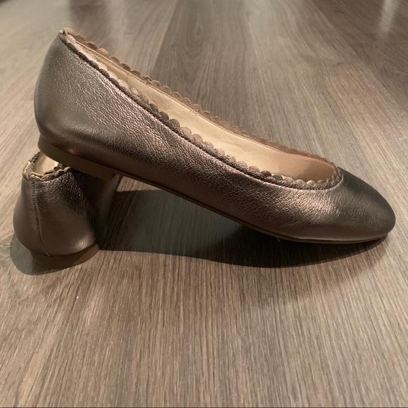 Louise et Cie Caynlee Ballet Flat in bronze - Sz 9